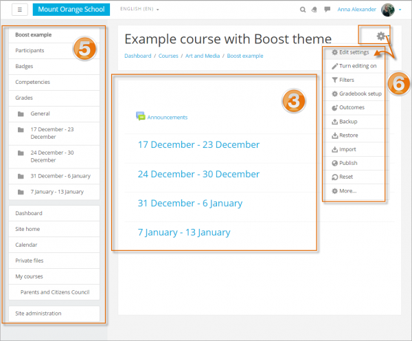 Boost example